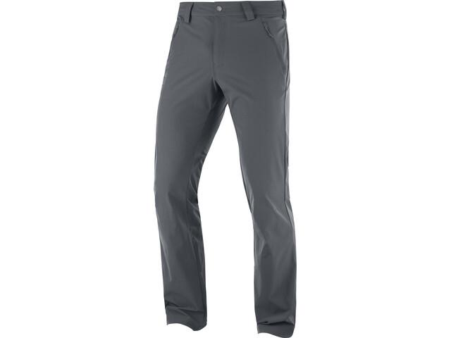 Salomon Wayfarer Straight LT Pantalones Hombre, ebony